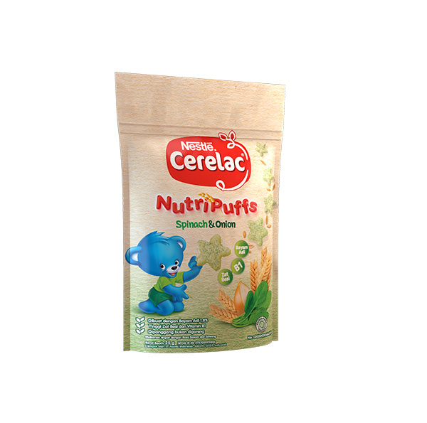 Nutripuffs Spinach & Onion